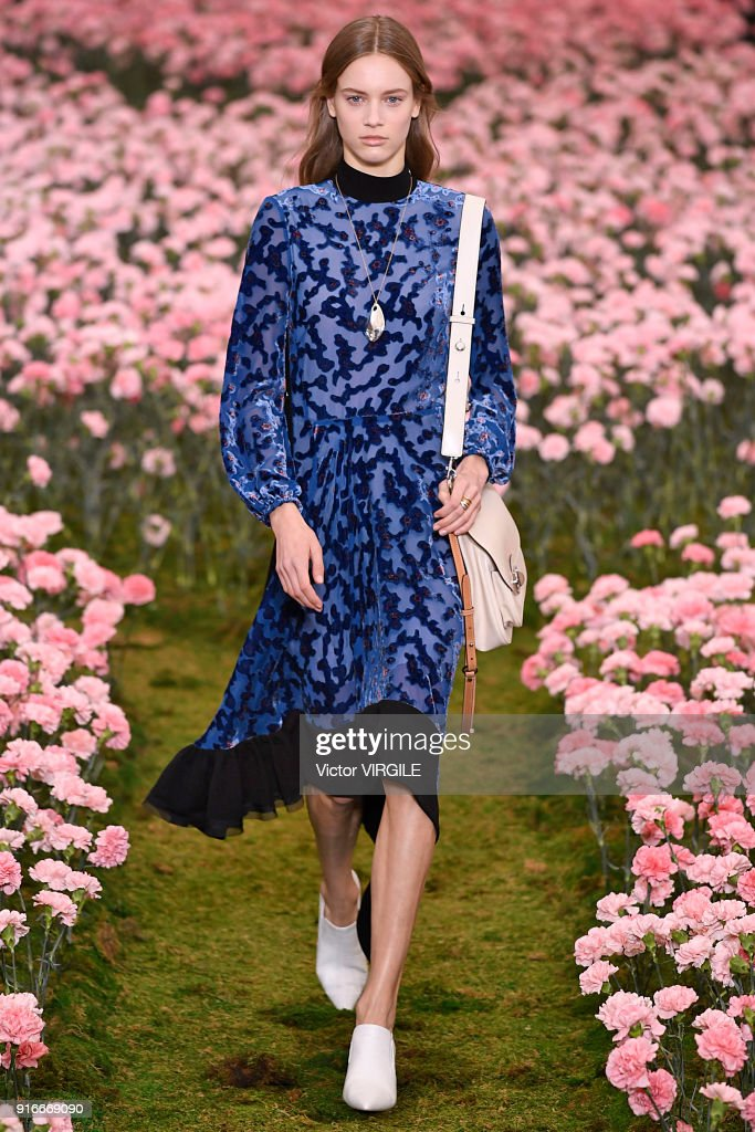 A model walks the runway during the Tory Burch Ready to Wear Fall/Winter  2018