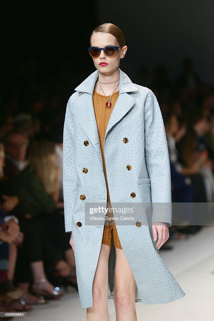 Trussardi - Runway - Milan Fashion Week Womenswear Spring/Summer 2015 : News Photo