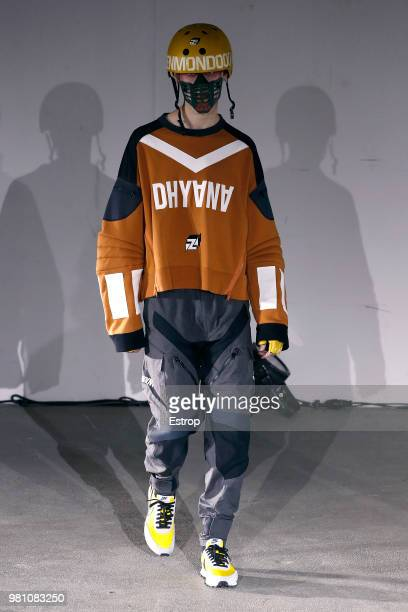 Models walk the runway during the Undercover Menswear Spring/Summer 2019 show as part of Paris Fashion Week on June 20 2018 in Paris France