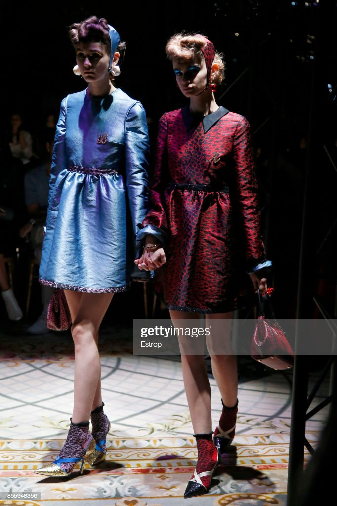 Undercover : Runway - Paris  Fashion Week Womenswear Spring/Summer 2018 : ニュース写真
