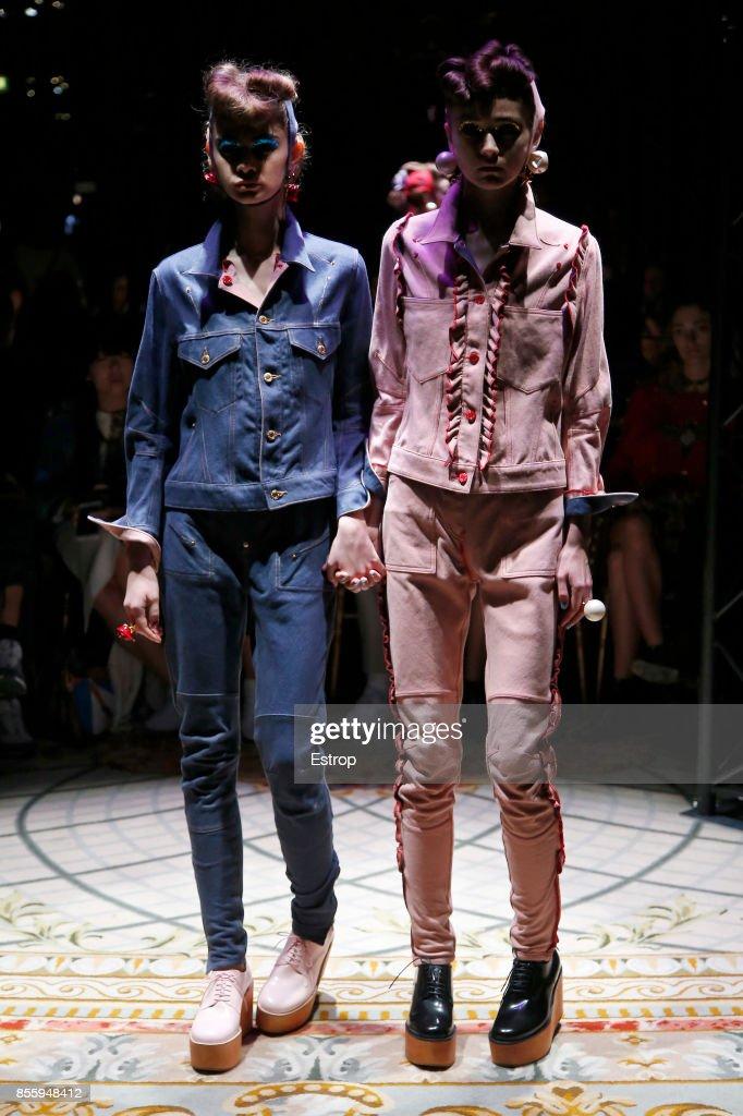 Undercover : Runway - Paris  Fashion Week Womenswear Spring/Summer 2018 : ニュース写真