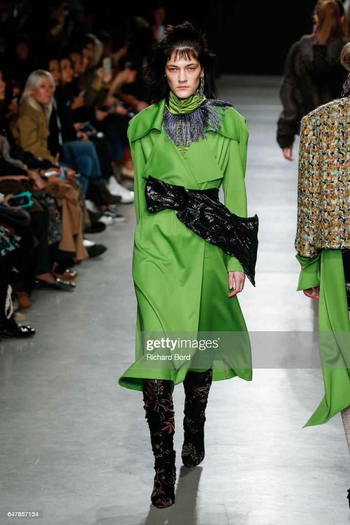 Veronique Leroy : Runway - Paris Fashion Week Womenswear Fall/Winter 2017/2018 : News Photo