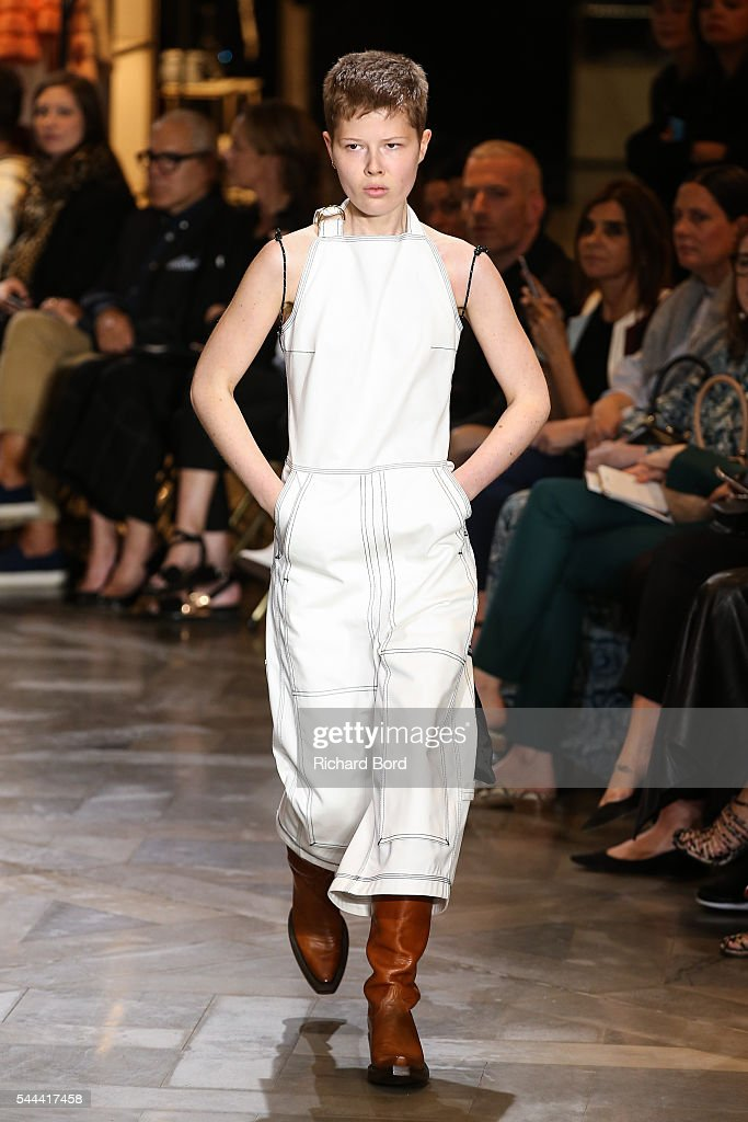 Vetements : Runway - Paris Fashion Week - Haute Couture Fall/Winter 2016-2017 : News Photo