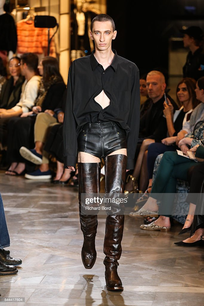 Vetements : Runway - Paris Fashion Week - Haute Couture Fall/Winter 2016-2017 : News Photo