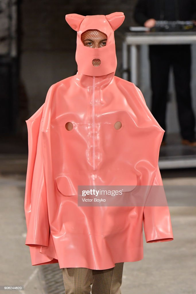 Walter Van Beirendonck : Runway - Paris Fashion Week - Menswear F/W 2018-2019
