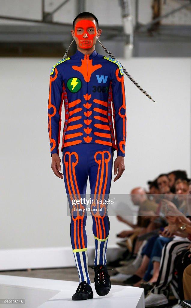 Walter Van Beirendonck : Runway - Paris Fashion Week - Menswear Spring/Summer 2019