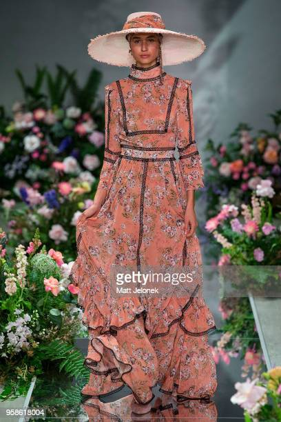 A model walks the runway during the We Are Kindred show at MercedesBenz Fashion Week Resort 19 Collections at Carriageworks on May 15 2018 in Sydney...