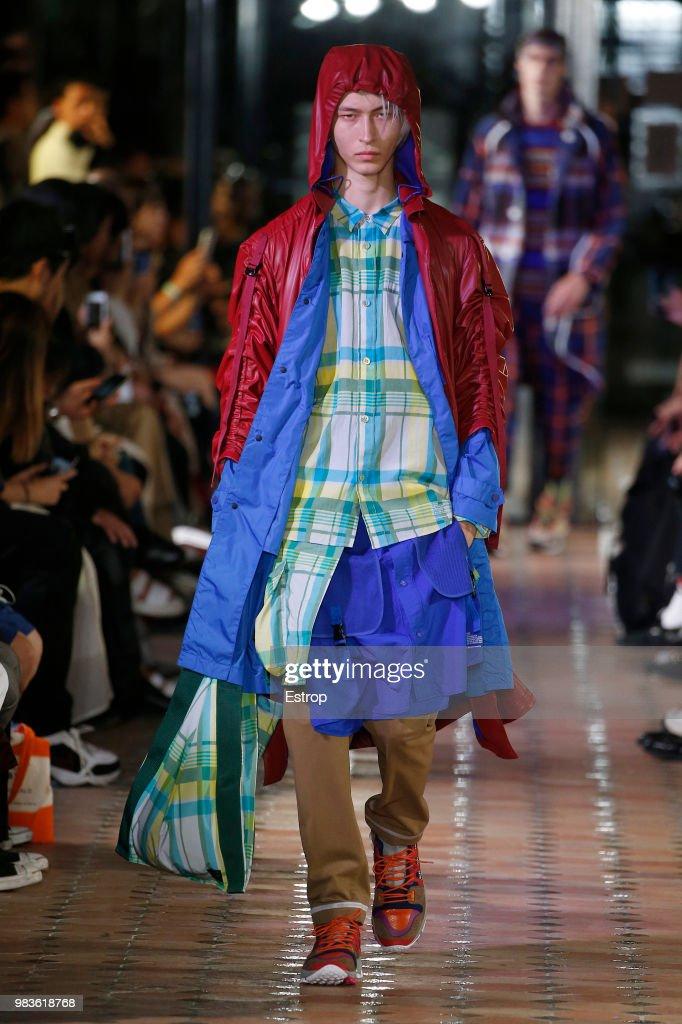 White Mountaineering: Runway - Paris Fashion Week - Menswear Spring/Summer 2019