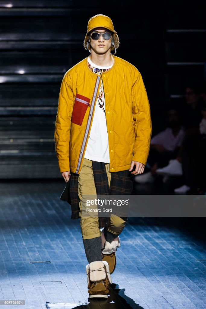 White Mountaineering : Runway - Paris Fashion Week - Menswear F/W 2018-2019