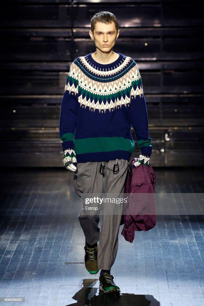White Mountaineering : Runway - Paris Fashion Week - Menswear F/W 2018-2019 : ニュース写真