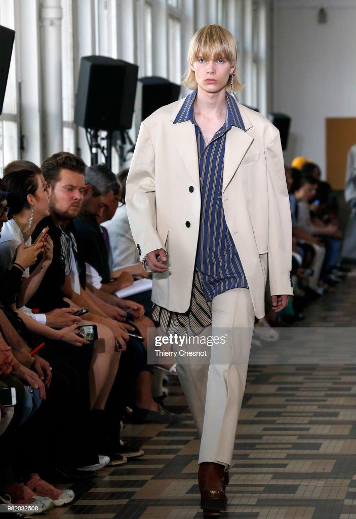 Wooyoungmi: Runway - Paris Fashion Week - Menswear Spring/Summer 2019