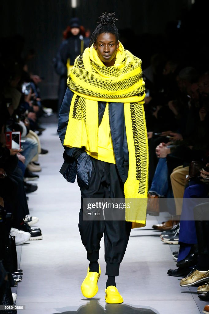Y-3 : Runway - Paris Fashion Week - Menswear F/W 2018-2019