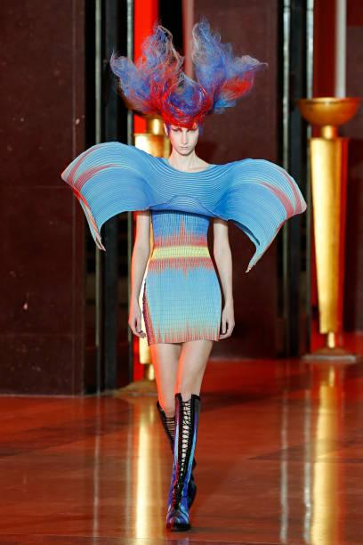 FRA: Yuima Nakazato : Runway - Paris Fashion Week - Haute Couture Spring/Summer 2020