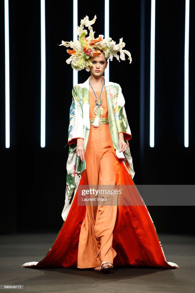 FRA: Yumi Katsura : Runway - Paris Fashion Week - Haute Couture Fall Winter 2018/2019