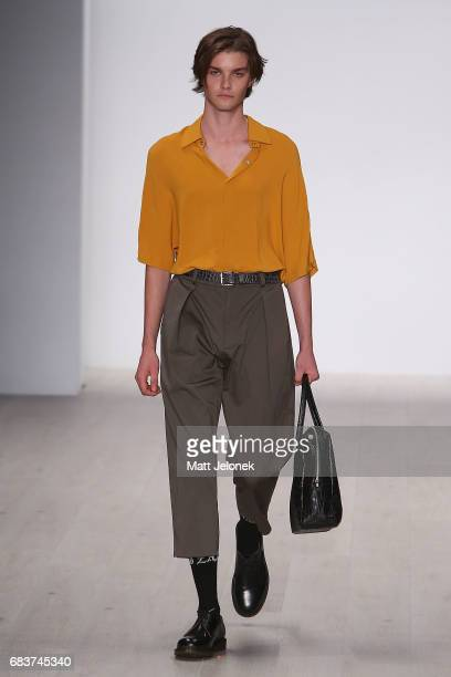 A model walks the runway during the Zambesi show at MercedesBenz Fashion Week Resort 18 Collections at Carriageworks on May 16 2017 in Sydney...