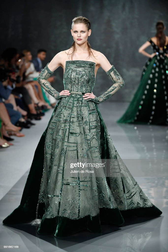 model-walks-the-runway-during-the-ziad-nakad-haute-couture-fall-as-picture-id991662168