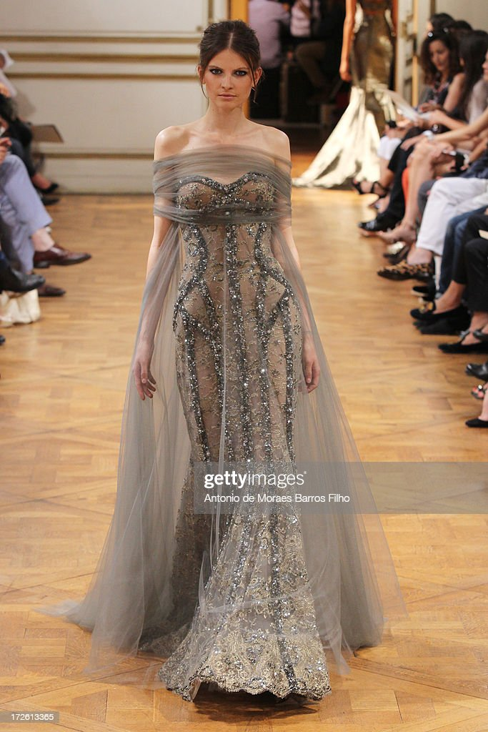 Zuhair Murad: Runway - Paris Fashion Week Haute-Couture F/W 2013-2014