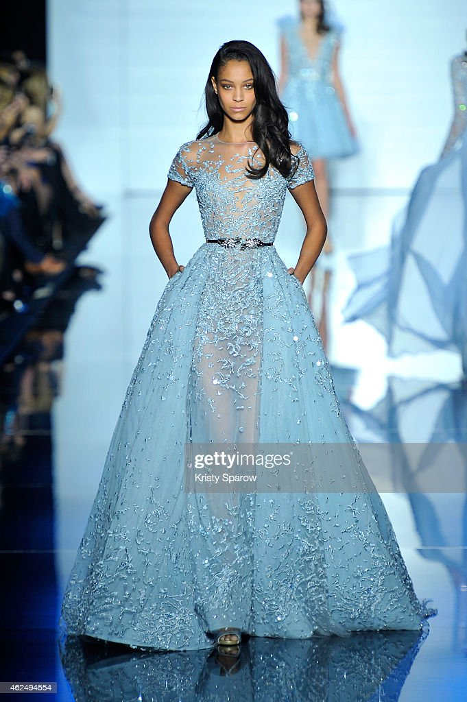Zuhair Murad : Runway - Paris Fashion Week - Haute Couture S/S 2015 : News Photo