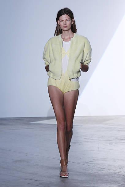 87bfa7bb714 A model walks the runway during Vionnet show as part of the Paris Fashion  Week Womenswear