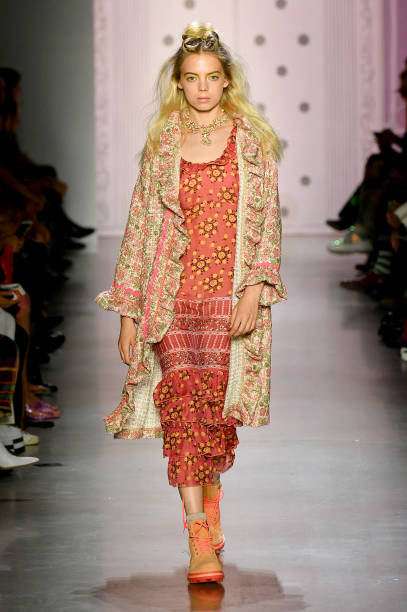 NY: Anna Sui - Runway - September 2019 - New York Fashion Week: The Shows