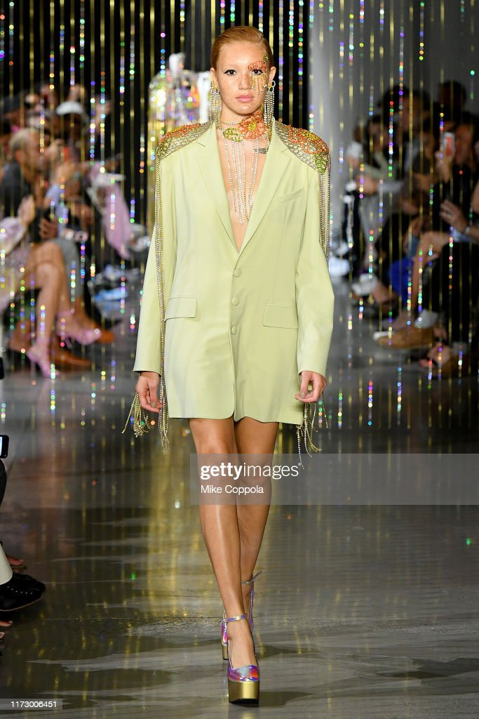 Area - Runway - September 2019 - New York Fashion Week: The Shows : News Photo