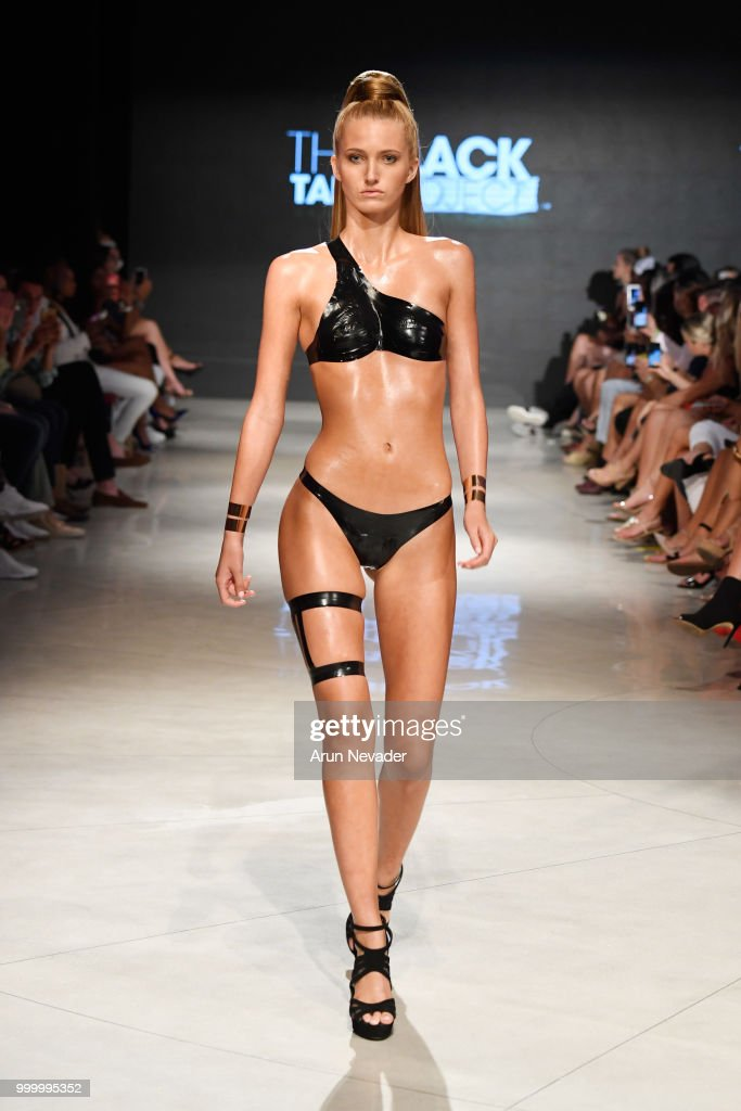 Black Tape Project At Miami Swim Week Powered By Art Hearts Fashion Swim/Resort 2018/19 : News Photo