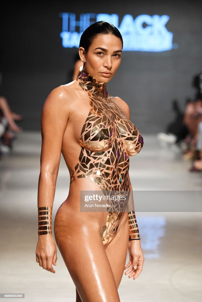 Black Tape Project At Miami Swim Week Powered By Art Hearts Fashion Swim/Resort 2018/19 : News Photo