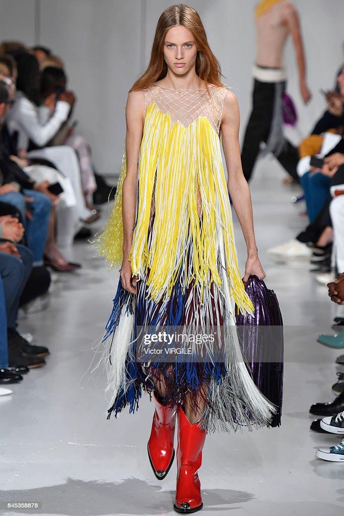 Calvin Klein Collection - Runway - September 2017 - New York Fashion Week : Nieuwsfoto's