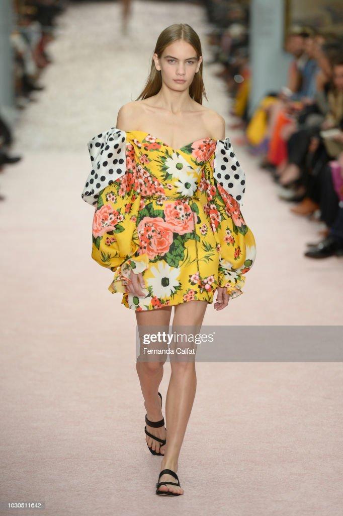 Carolina Herrera - Runway - September 2018 - New York Fashion Week: The Shows : ニュース写真