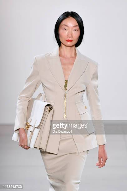 Model walks the runway for China Day: Lily during New York Fashion Week: The Shows on September 08, 2019 in New York City.