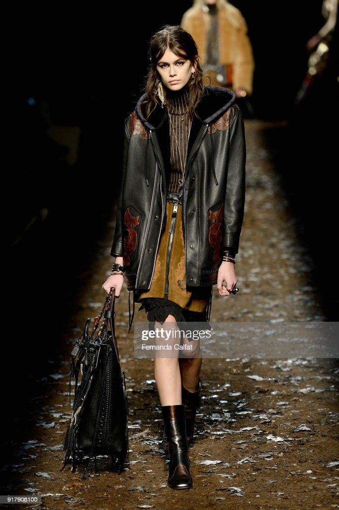 Leather, fringe, fur & fall colors