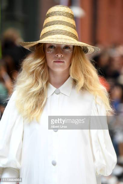 A model walks the runway for Cynthia Rowley during New York Fashion Week The Shows on September 10 2019 in New York City