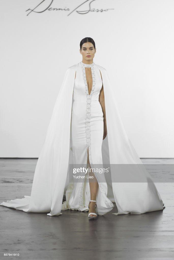 d1b3dd106141 Dennis Basso For Kleinfeld - Runway - New York Fashion Week  Bridal October  2017