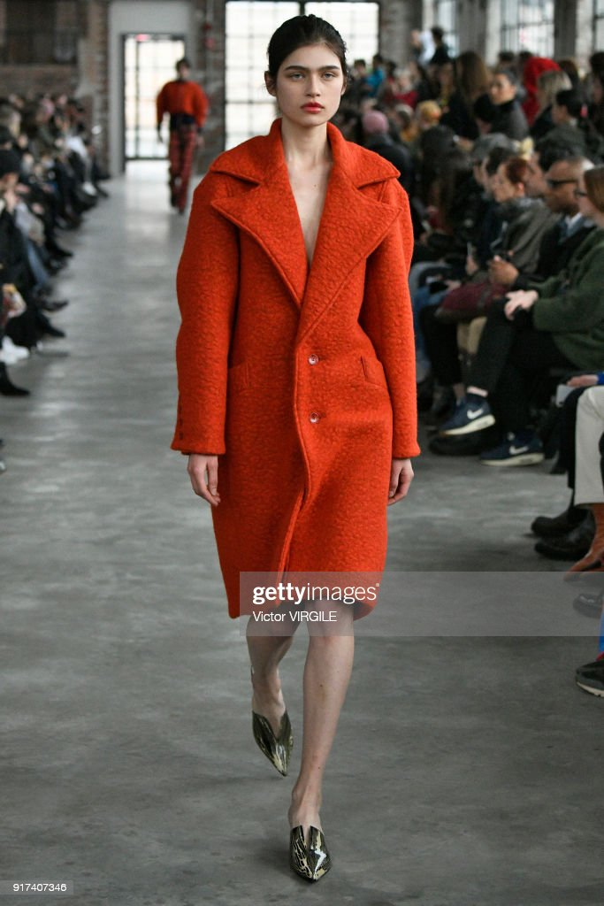 Eckhaus Latta - Runway - February 2018 - New York Fashion Week : News Photo