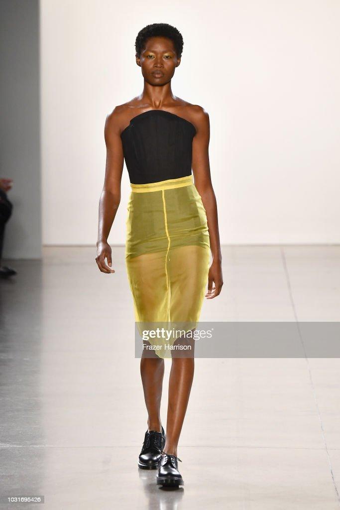 NY: Hogan McLaughlin - Runway - September 2018 - New York Fashion Week: The Shows