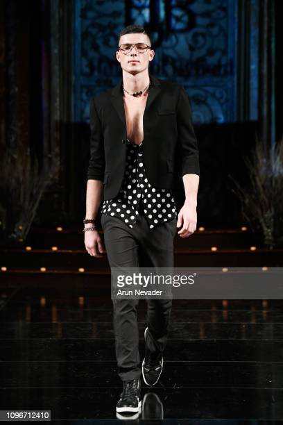A model walks the runway for HOUSE OF BYFIELD At New York Fashion Week Powered By Art Hearts Fashion NYFW at The Angel Orensanz Foundation on...