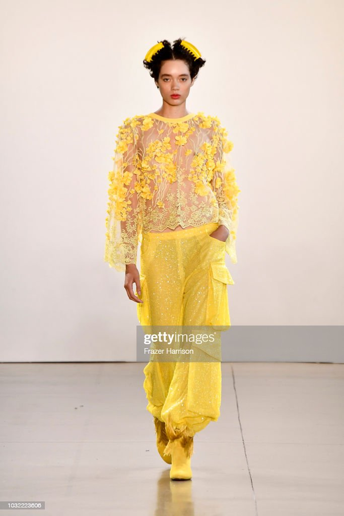NY: Marcel Ostertag - Runway - September 2018 - New York Fashion Week: The Shows