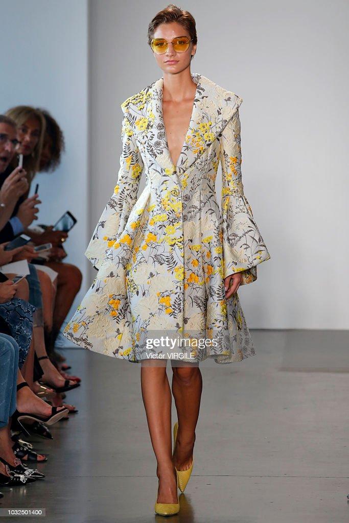 Pamella Roland - Runway - September 2018 - New York Fashion Week : ニュース写真