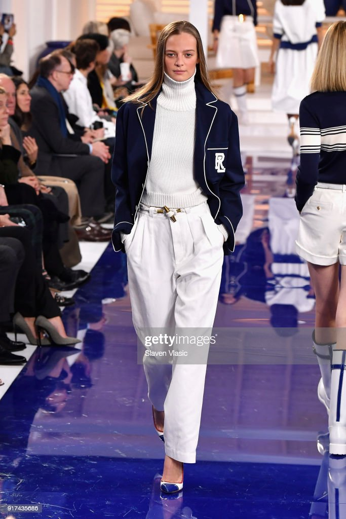 Ralph Lauren - Runway - February 2018 - New York Fashion Week : ニュース写真