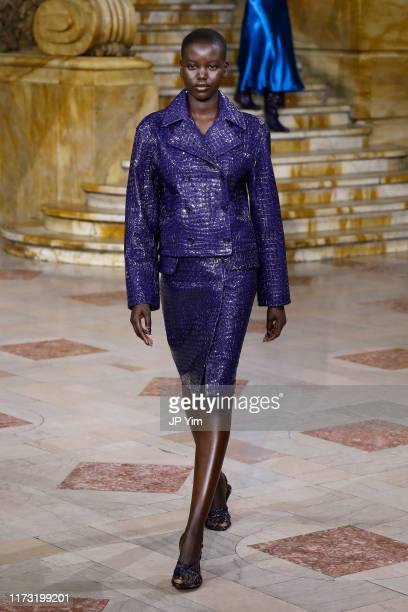 A model walks the runway for Sies Marjan during New York Fashion Week The Shows on September 08 2019 in New York City
