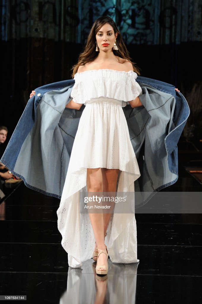 TENSIONE IN At New York Fashion Week Powered By Art Hearts Fashion NYFW : News Photo