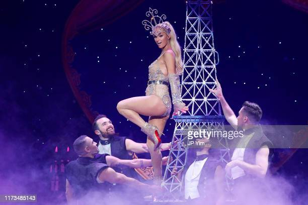 A model walks the runway for The Blonds x Moulin Rouge The Musical during New York Fashion Week The Shows on September 09 2019 in New York City