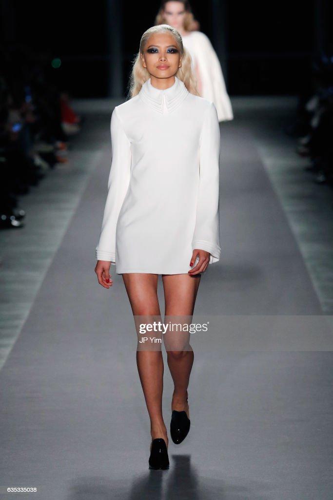 Brandon Maxwell - Runway - February 2017 - New York Fashion Week: The Shows : News Photo