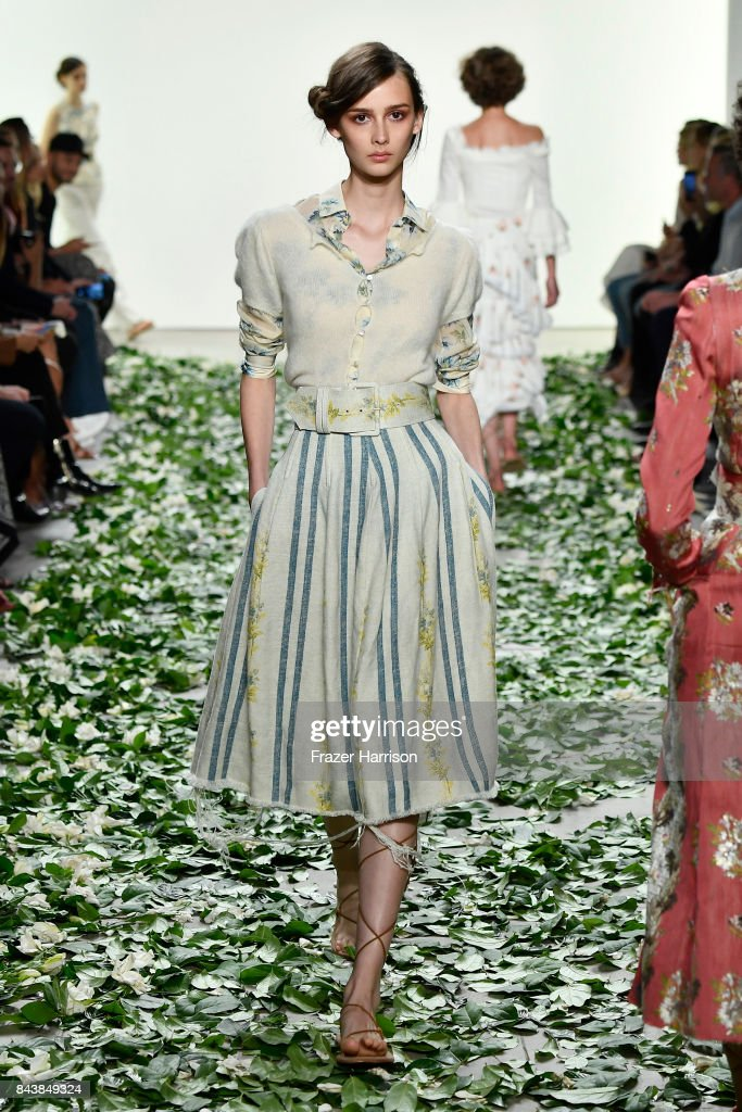 Brock Collection - Runway - September 2017 - New York Fashion Week Presented By MADE : News Photo