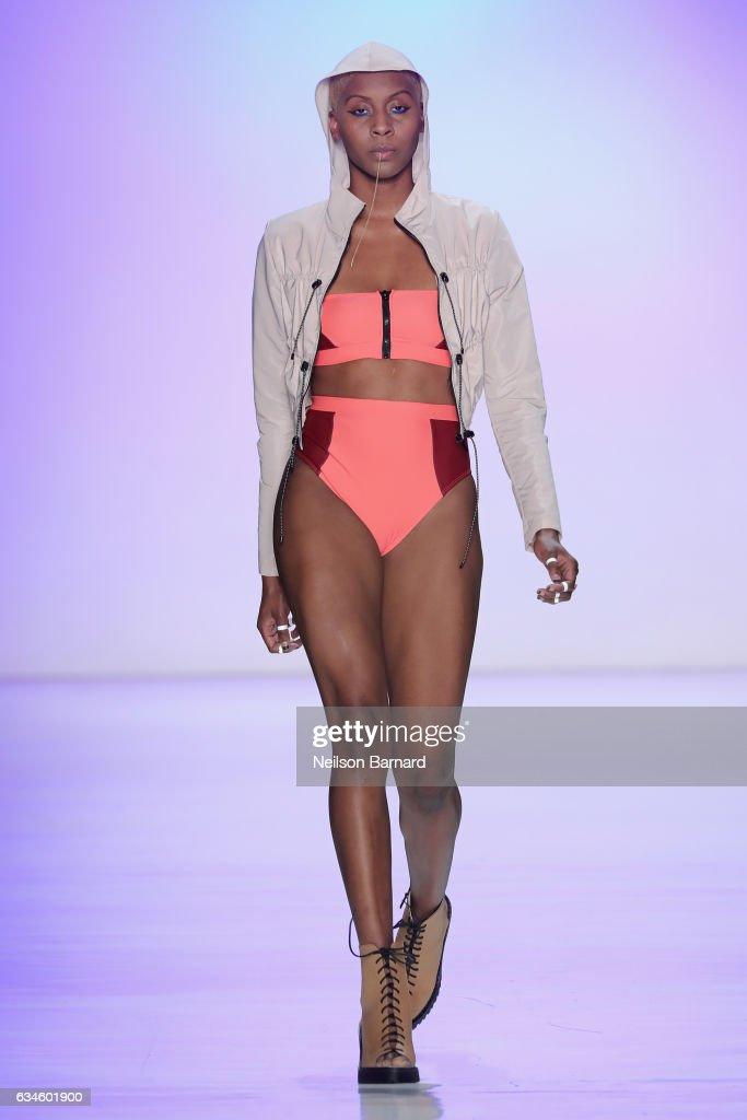 Chromat - Runway - February 2017 - New York Fashion Week Presented By MADE : News Photo