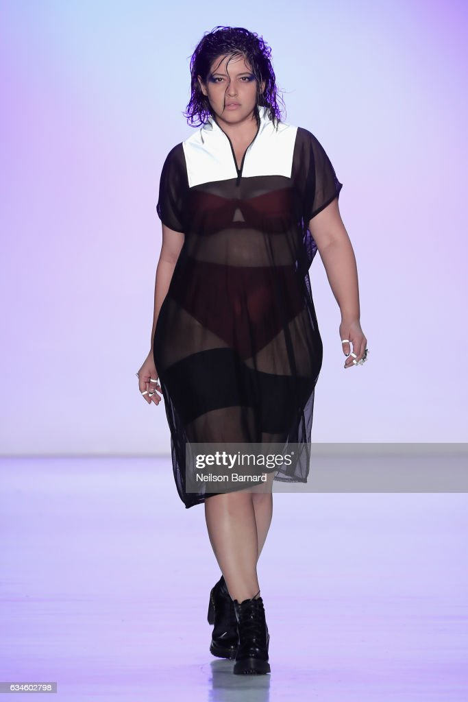 Chromat - Runway - February 2017 - New York Fashion Week Presented By MADE : News Photo