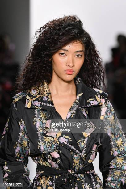 A model walks the runway for the Cynthia Rowley fashion show during February 2020 New York Fashion Week The Shows at Gallery I at Spring Studios on...