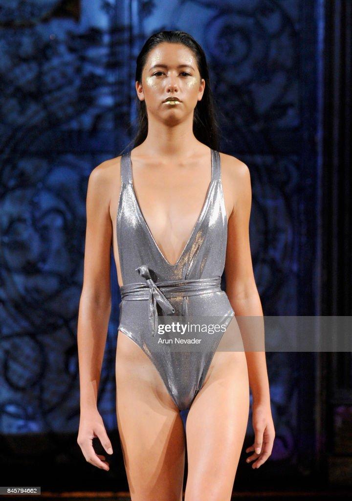 Eliya Cioccolato at New York Fashion Week NYFW Art Hearts Fashion SS/18 : News Photo