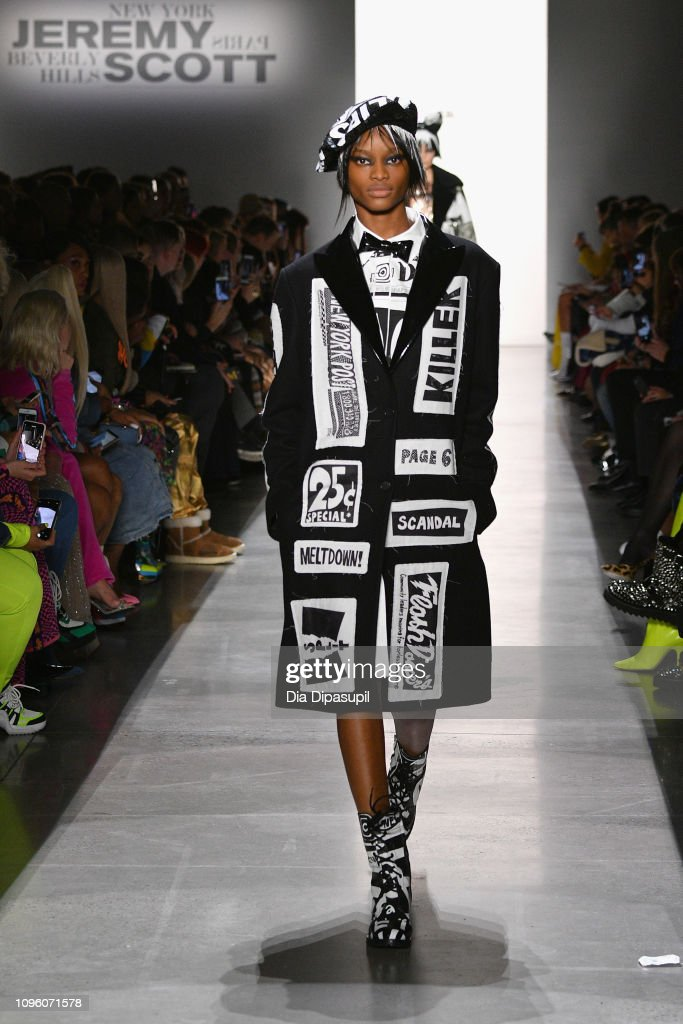 Jeremy Scott - Runway - February 2019 - New York Fashion Week: The Shows : ニュース写真
