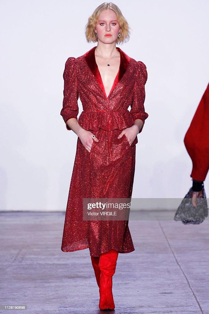4030df65ae3 Jiri Kalfar - Runway - February 2019 - New York Fashion Week   News Photo